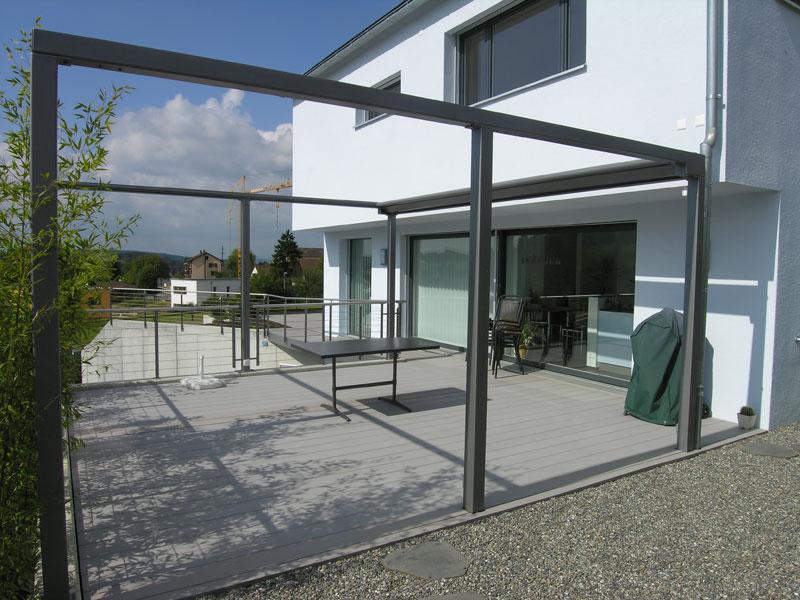 atenblatt f r carport aus metall und acrylglas er fuegt. Black Bedroom Furniture Sets. Home Design Ideas